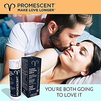 Promescent Desensitizing Delay Spray for Men Clinically Proven to Help You Last Longer in Bed - Better Maximized Sensation + Prolong Climax for Him - 2.6 ml