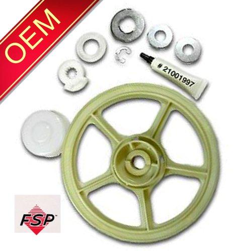 (12002213 Maytag OEM Factory Genuine Original Washer Transmission Pulley Kit)