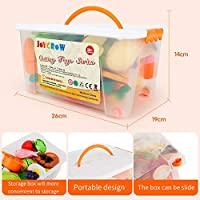 JoyGrow 40 PCS Cutting Toys Play Food Kitchen Pretend for Girls Boy Kids with St