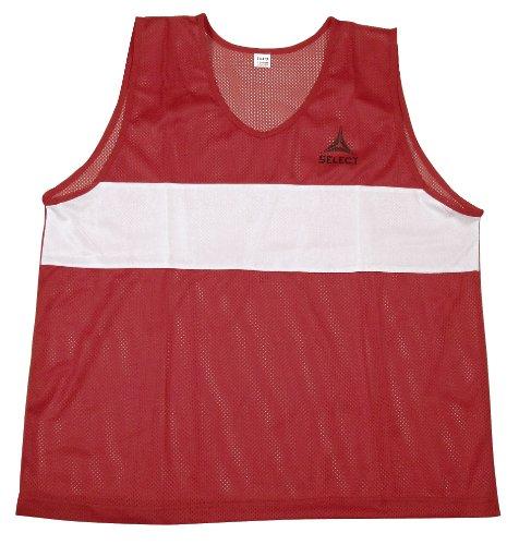 Select 60-835 Over-Vest Training Bib (Red, Senior) ()