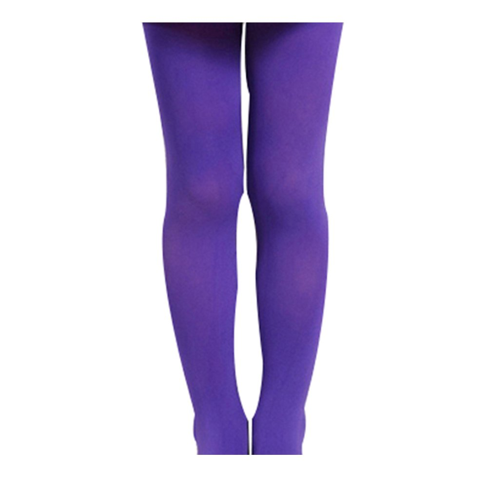 c9383f6db TRENTON Kids Girl Solid Color Ballet Dance Stretch Opaque Pantyhose Footed  Tights product image