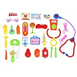 Children's Basic Skills Development Toys toys for 2 year old girls Baby Kids Doctor Medical Play Set Carry Case Kit Education Role Play Toy toys for 2 year old boy 30Pcs