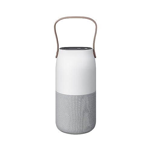 Samsung Bottle Enceinte Portable sans Fil avec Connexion Bluetooth Gris/Blanc/Brun