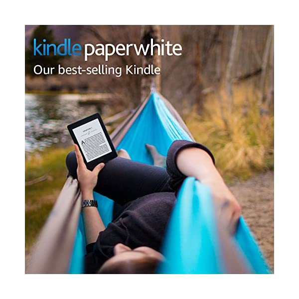 """Kindle Paperwhite E-reader (Previous Generation - 7th) - Black, 6"""" High-Resolution Display (300 ppi) with Built-in Light, Wi-Fi 1"""