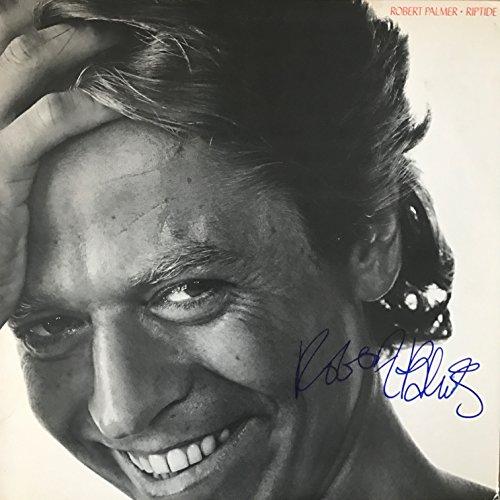 Robert Palmer signed LP album ()