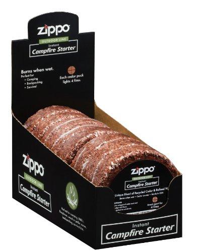 Zippo Cedar Campfire Starter, Cedar Fire Starter 8 Pack, 8 x 4 x 4 - Kit Rae Zippo
