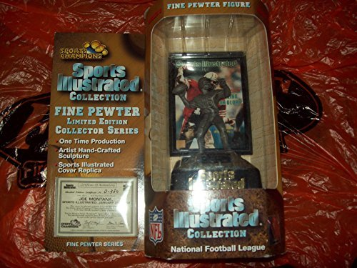 Sports Illustrated Collection Fine Pewter Figure - Joe Montana