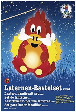 Feuerdrache, nur Bastelset Ursus Laternen-Bastelset