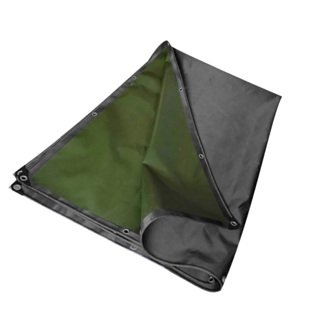 片面ゴムキャンバス防雨耐摩耗性防水ヴァンレインカバー-530g / m 2、厚さ:0.7 mm (サイズ さいず : 2m*4.5m) 2m*4.5m  B07QJTMZF6