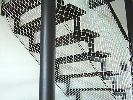 10mx3m Redes de protecci/ón y Seguridad de Polipropileno Blanco sin Nudos 3 mm terraza para Balcones pasamanos etc /…