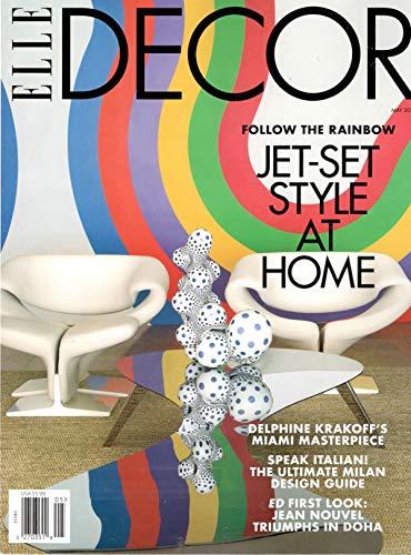 Elle Decor Magazine - Elle Decor Magazine (May, 2019) Jet-Set Style At Home