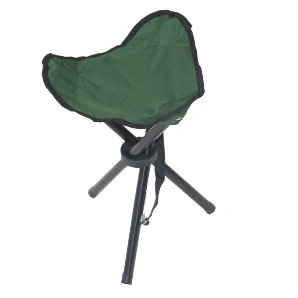 Portable Tabouret Pliante Pêche Tripod Vert Pliable Camp Chaise Dttn MVzpSUq
