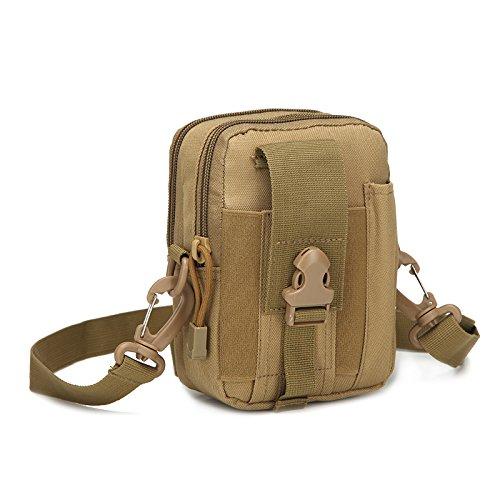 AGECC Taktische Wasserkocher Bein Tasche Tasche Brusttasche Zwanglosen Outdoor Multifunktionale Werkzeug Bait Bag H