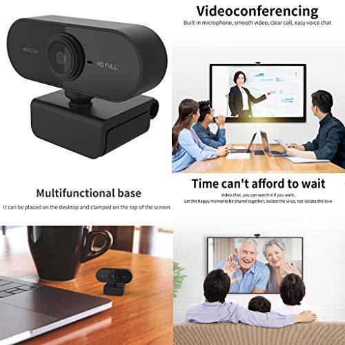 Baoblaze 1080P HD Webcam Foco Automático PC Desktop Web Camera Cam Com Microfone NOVO