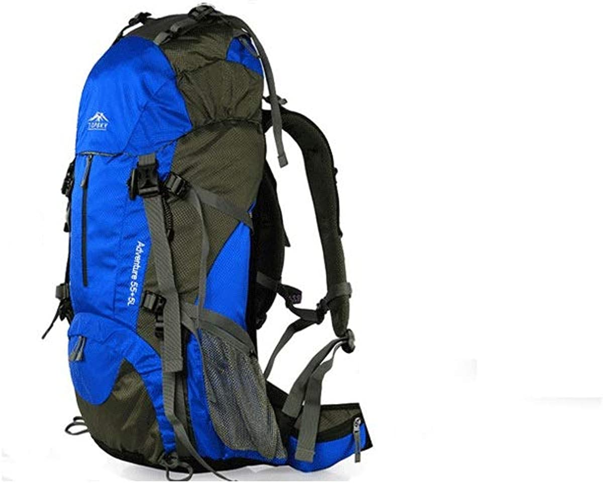 Shoulder Men and Women Bag A Variety of Colors Available Tongboshi Outdoor Mountaineering Bag Color : Royal Blue -50L Multi-Function Large-Capacity Travel Backpack 40 Liters 50L60L