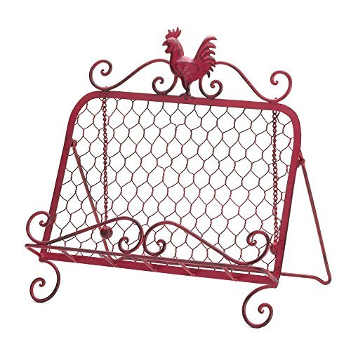 VERDUGO GIFT Rooster Cookbook Stand
