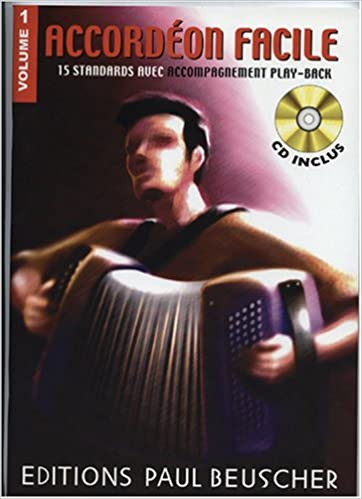 Accordeon Facile Vol 1 CD Inclus