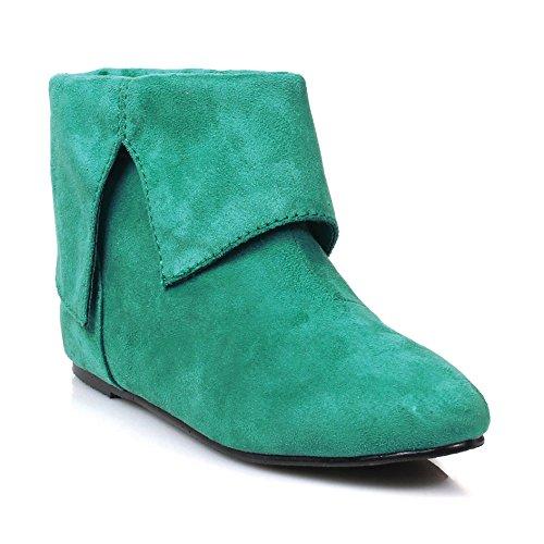 Ellie Sko Mens 1 Hæl Støvlestørrelser Grn