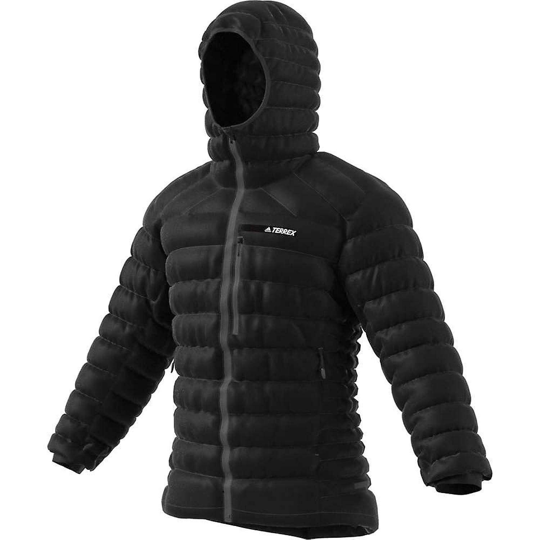 アディダス アウター ジャケットブルゾン Adidas Men's Terrex Climaheat Agravic Do Black CE64 [並行輸入品] B07B4TPPB1  Large