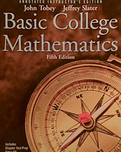 Basic College Mathematics - Instructor's Edition