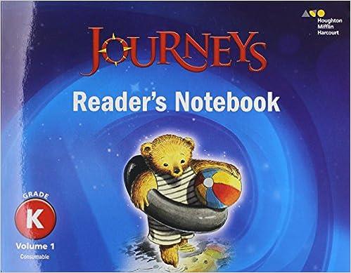 Journeys readers notebook volume 1 grade k houghton mifflin journeys readers notebook volume 1 grade k 1st edition by houghton mifflin harcourt fandeluxe Images
