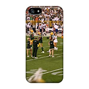 Series Skin Case Cover For Iphone 5/5s(green Bay Packers Cheerleaders Outfit)