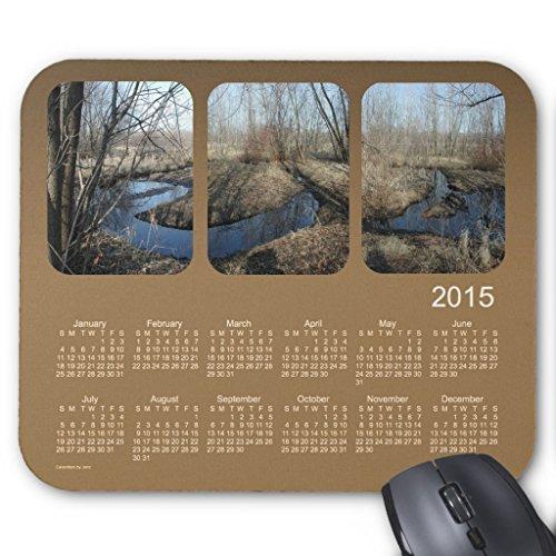 Zazzle 2015 Landscape Calendar by Janz Brown Mouse Pad -