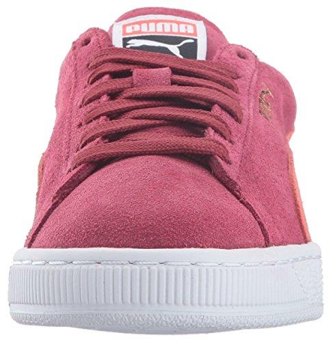 Puma Donna Camoscio Classico Wn Sneaker Tibetano Corallo Rovente