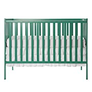 Dream On Me Synergy 5-in-1 Convertible, Crib, Emerald