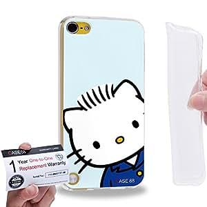 Case88 [Apple iPod Touch 5] Gel TPU Carcasa/Funda & Tarjeta de garantía - Hello Kitty Dear Daniel Collection 1320