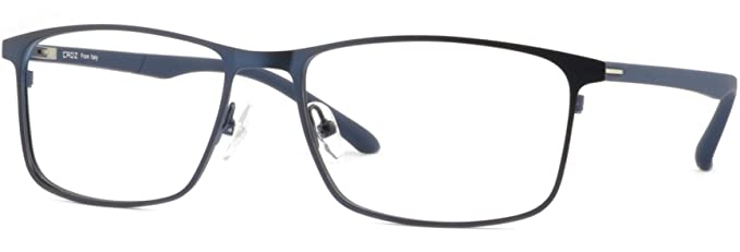 35b1ac8b13 Image Unavailable. Image not available for. Color  Wide Light Mens Titanium  Frames Prescription Glasses ...