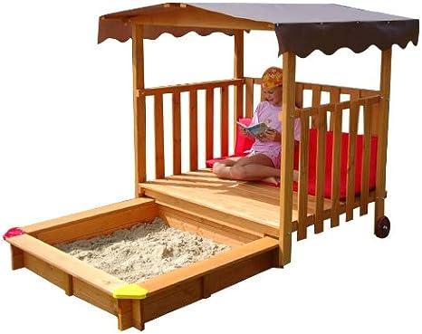 GASPO Cajón de arena: Amazon.es: Juguetes y juegos