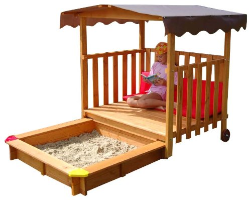 Exaco Playhouse with Sandbox Sand Box by Exaco