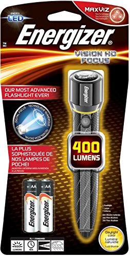 Energizer Metal Led Flashlight (Energizer Performance Metal LED Flashlight with Digital Focus & HD Optics)