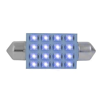 GG Grand General 76101 Blue Light Bulb (211-2 16-LED Festoon Dome, 12V): Automotive [5Bkhe1508848]