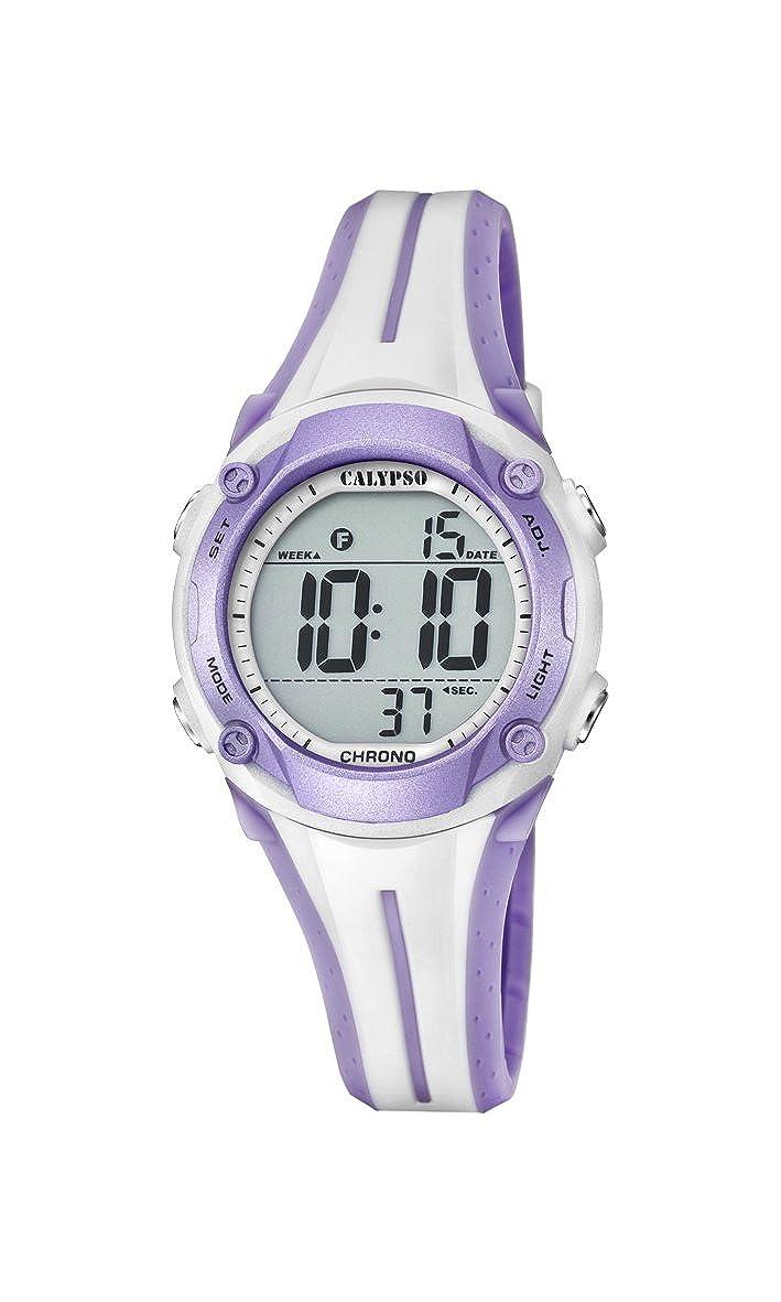 Calypso Reloj Digital para Unisex de Cuarzo con Correa en Plástico K5682/7