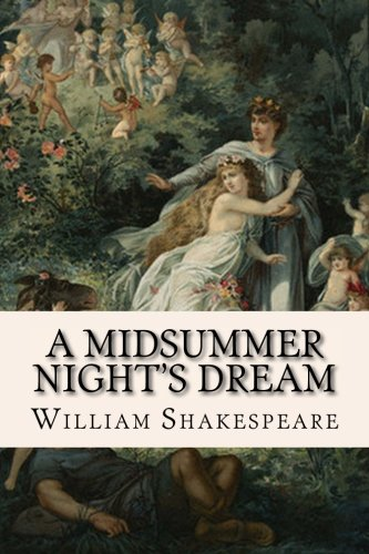 Book cover from A Midsummer Nights Dream by William Shakespeare