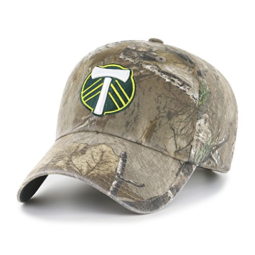 OTS MLS  Portland Timbers Realtree  Challenger Adjustable Hat, Realtree Camo, One Size