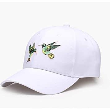 FERZA Home Algodón Hombres y Mujeres Sombreros Regalos Gorras de béisbol Bordado al Aire Libre Cúpulas CapsRed (Color : White): Amazon.es: Hogar