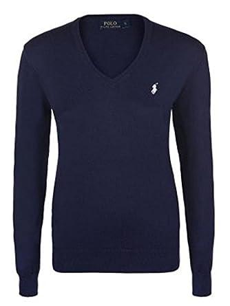 Ralph Lauren Polo Damen Pullover Eloise Pima Cotton Navy (XS ... 509f067c1e