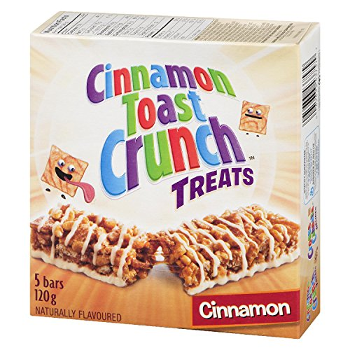 Cinnamon Toast Crunch Cinnamon, 5-Count, 120 Gram/4.23 Ounces {Imported from (Cinnamon Crunch Granola)