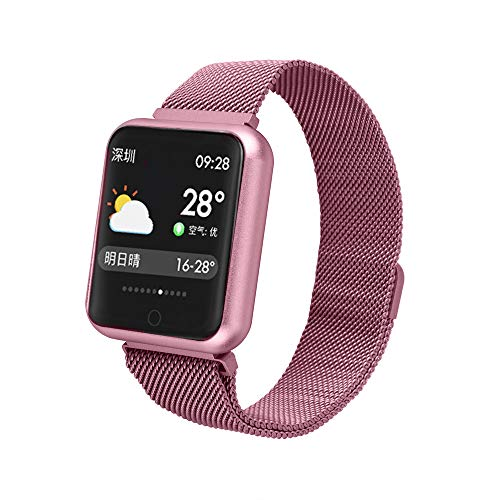 Price comparison product image Fitness Watch Band for iPhone X,  Fitness Tracker Bluetooth Smartwatch Monitor Pedometer Men and Women Heart Rate / Blood Pressure / Sleep Monitor, Calorie Counter Pedometer for iPhone / Android Smartphone