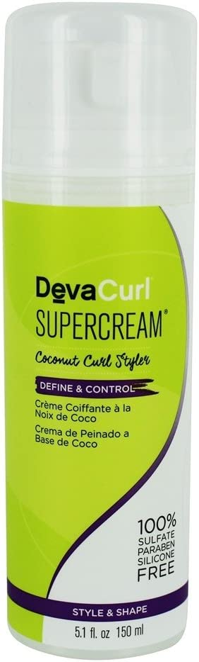 DevaCurl – Supercream Coconut Curl Styler – 5.1 fl. oz.