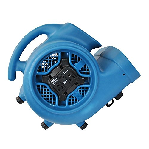 XPOWER P-450NT 1//3 HP 2000 CFM Freshen Scented Air Mover w// Timer /& Ionizer
