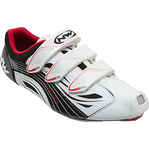 Northwave black Men's Shoe Cycling Typhoon Evo red white vAzwvrq