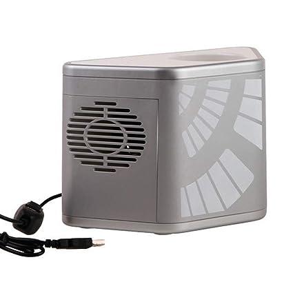 Amazon.es: Frío y frío Doble uso Usb Pequeño refrigerador Mini ...