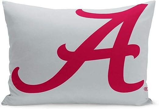 1 Alabama Crimson Tide Pillowcase University Of Alabama Pillow Case Football