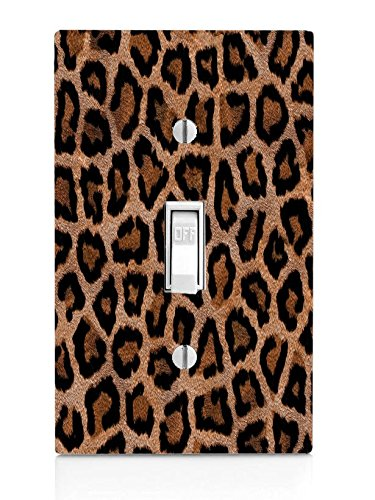 Leopard Print Design Pattern Light Switch Plate