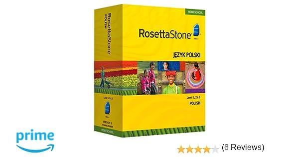 Amazon.com: Rosetta Stone Homeschool Polish Level 1-3 Set ...