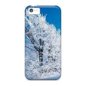 High Impact Dirt/shock Proof Case Cover For Iphone 5c (sunny Winter 16888)